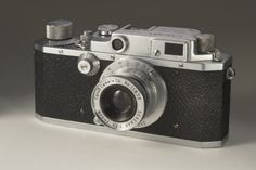 Canon IIB camera, made in Japan in between 1949 and 1952.  The Canon II B was…