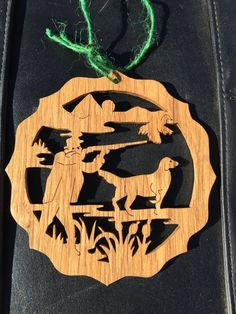 Duck Hunting Ornament - Wildlife Ornament - Hand made Ornament - Wood Christmas Ornament - Scroll Saw Ornament - Wildlife Decorations Hunting Art, Duck Hunting, Wildlife Decor, Wildlife Art, Handmade Ornaments, Handmade Gifts, Gifts For Hunters, Scroll Saw, Wood Signs