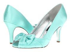 Looking for a pop of color under the dress? Try these-Nina Forbes Sea Green - Zappos.com Free Shipping BOTH Ways