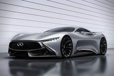 The future of the Infiniti GT car is here via the Infiniti Concept Vision Gran Turismo.