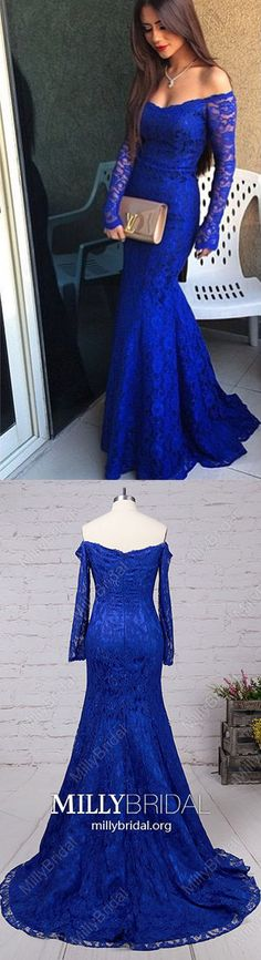 Long Prom Dresses with Sleeves,Royal Blue Prom Dresses,Modest Prom Dresses Mermaid,Elegant Prom Dresses Off-the-shoulder,Sexy Prom Dresses Lace Modest Formal Dresses, Royal Blue Prom Dresses, Affordable Prom Dresses, Formal Dresses For Teens, Elegant Prom Dresses, Prom Dresses With Sleeves, Simple Prom Dress, Dress Long, Classy Dress