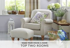 Inside Choice Home Interior - Spring has well and truly sprung and in some people's eyes this is the perfect time for an interiors update Home, Wingback Chair, Chair, Furniture, Interior, Home Furniture, House, Accent Chairs, House Interior