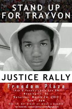 Justice for Trayvon Martin.