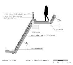 Puente peatonal en Zapallar / Enrique Browne