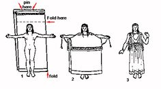 Greek Dress- great website that decribes 2 fifferent ways to make ancient greek dress.