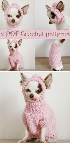 Crochet Dog Sweater Free Pattern, Crochet Giraffe Pattern, Crochet Dog Patterns, Knit Dog Sweater, Dog Sweaters, Dog Crochet, Sweater Patterns, Crochet Crafts, Sewing Crafts
