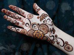 Beautiful Arabic Mehndi Designs For Girls And Women