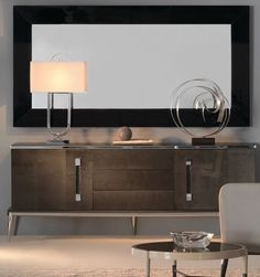 London Collection Designer Two Door Sideboard at Juliettes Interiors, a large collection of designer Modern Furniture. Italian Furniture, Luxury Furniture, Modern Furniture, Home Furniture, Furniture Design, White Sideboard, Sideboard Cabinet, Interior Design Inspiration, Furniture Inspiration