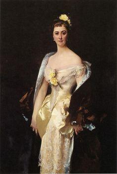 Caroline de Bassano, Marquise dEspeuilles 1884. Джон Сингер Сарджент