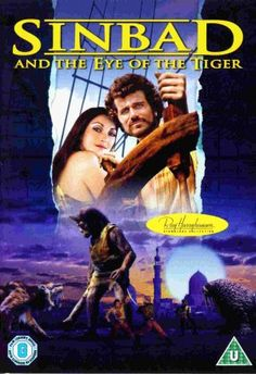 Sinbad and the Eye of the Tiger [DVD] Jugendfilm Sinbad and the Eye of the Tiger [DVD] Sinbad The Sailor, Patrick Wayne, Clash Of The Titans, Bagdad, Kino Film, Jane Seymour, Fantasy Movies, Fantasy Books, Creature Feature