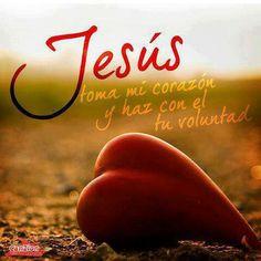 Entregale a Jesus ntro Señor tu corazon..Dios es Amor