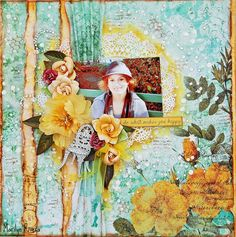 LE kit nov. 2014 by My Creative Scrapbook Kaisercraft-Be-YOU-tiful collection and lot of Prima goodies. My blog...http://marilynrivera.blogspot.com/2014/11/my-creative-scrapbook-november-reveal.html