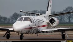 High quality photo of Turkey - Air Force Cessna 550 Citation II by Chris Hijdra. Visit Airplane-Pictures.net for creative aviation photography.
