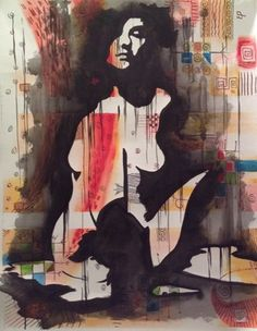 "Saatchi Art Artist Eka Peradze; Painting, ""Romance. 70x90cm.#07/7"" #art"