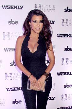 Kourtney Kardashian Parties at the Bellagio
