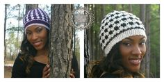 Mystic - A Free Crochet Beanie Pattern by ELK Studio.  CLICK HERE TO SEE 4 STYLES FROM ONE PATTERN.