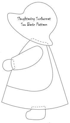 sun-bonnet-sue-pattern-basic.jpg - Craft ~ Your ~ Home