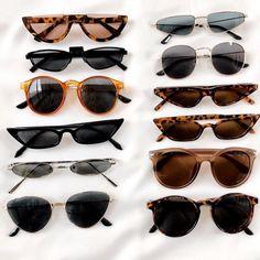 cute sunglasses Belmto B - sunglasses Ray Ban Sunglasses, Cat Eye Sunglasses, Round Sunglasses, Sunglasses Women, Summer Sunglasses, Vintage Sunglasses, Womens Fashion Online, Latest Fashion For Women, Mode Ulzzang