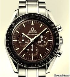 Omega SpeedMaster Moonwatch Ref.31130423013001  quadrante chocolate  cassa in acciaio 42mm bracc. in acciaio  carica manuale