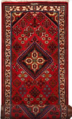 """Maymeh Persian Rug, Buy Handmade Maymeh Persian Rug 3' 3"""" x 12' 10"""", Authentic Persian Rug"""