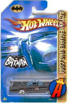 DC Comics Universe 1966 Batman TV Series Batmobile 1/50th die-cast vehicle from Hot Wheels circa 2007