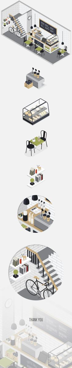 Pin by Violetta Leta on Illustrator Gravure Illustration, Flat Illustration, Graphic Design Illustration, Digital Illustration, Game Design, Graphisches Design, Flat Design, Isometric Art, Isometric Design