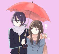 Noragami - Yato and Hiyori