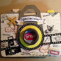Camera Mini Album, use The Snapshots Stack-DCWV