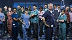 Casualty cast 2008