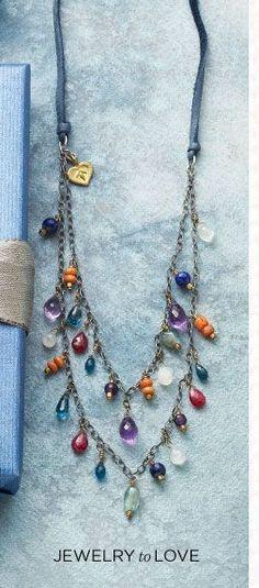 Women's Clothing and Unique Jewelry | Robert Redford's Sundance Catalog #lifestylejewelrytips