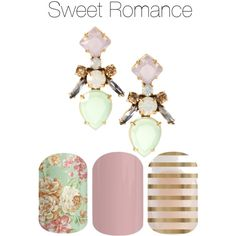 Sweet romance I have this combo on now and it's gorgeous!  Http://Ahlquist.jamberrynails.net