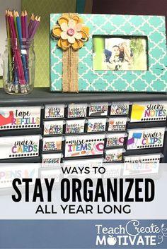 Stay organized all y