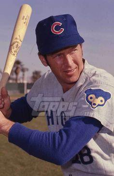 1972 Topps Baseball Original Color Negative. Glenn Beckert CUBS