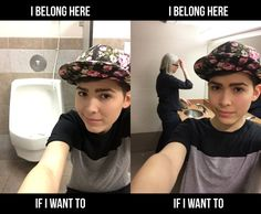 elierlick:  Hey bearded trans men trying to get into restrooms with the governor's wife: you forgot about us!Stop scapegoating trans women who don't pass as cisgender, gender nonconforming folks, and nonbinary people. We should be allowed into whatever restroom we want, regardless of what we look like. Sincerely, a trans dyke