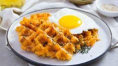 Рисовые вафли с кимчи и сыром - пошаговый рецепт