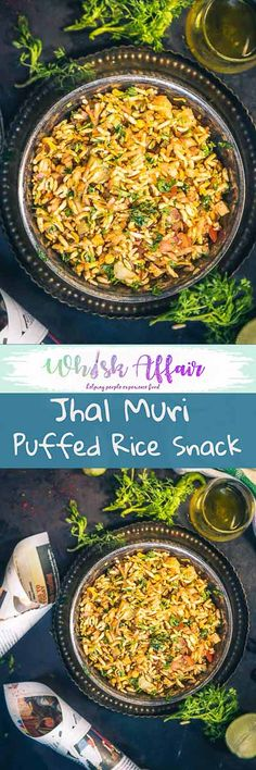 Jhal Muri is a popular street food of Kolkata made using puffed rice. The pungent taste of raw mustard oil makes it quite unique.  #Indian #StreetFood #Bengali via @WhiskAffair