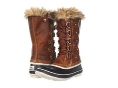 Intense snow boot, yet still feminine.  Sorel Joan of Arctic Premium.