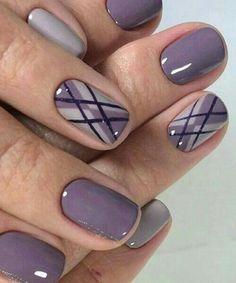 Fabulous Purple Ombre Nail Art Designs Previous Post Next Post Purple Ombre Nails, Purple Manicure, Purple Nail Art, Purple Nail Designs, Manicure E Pedicure, Cool Nail Designs, Purple Colors, Stripe Nail Designs, Pedicures