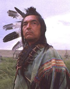 Graham Greene as Kicking Bird in Dances with Wolves... one of my favorite actors in one of my favorite movies...