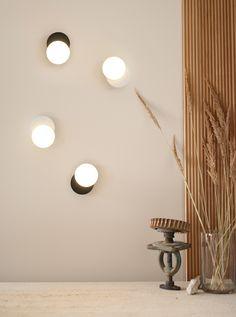 Applique Dot 01 en métal au design graphique par Tunto Structure Metal, Luminaire Design, Design Graphique, Lighting, Home Decor, Industrial Design, Light Fixtures, Lights, Interior Design