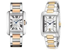 Cartier Tank vs Rotary Cartier Tank, Expensive Watches, Rotary, Clothing, Accessories, Tall Clothing, Clothes, Vestidos, Outfit