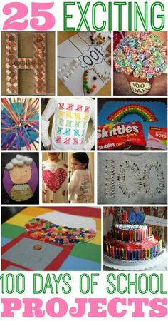100 Days of School Project: Rainbow of Skittles! This is a great, simple and easy project idea for kids celebrating the 100 Days of School! 100 Day Project Ideas, 100 Day Of School Project, 100 Days Of School Project Kindergartens, 100th Day Of School Crafts, School Fun, School Ideas, School Stuff, Kindergarten Projects, In Kindergarten