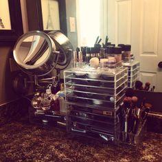Makeup station organization!