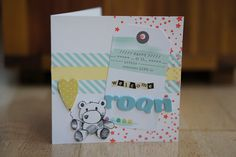 Welcome Roan - baby card