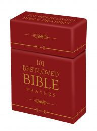 "BOXED CARDS:  101 BEST-LOVED BIBLE PRAYERS (BX077).  Available from Faith4U Book- and Giftshop, Secunda, SA. Email ""faith4u@kruik.co.za"""