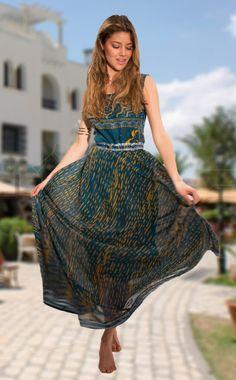 #summer #dress #loveit #beautiful dress #azüre #newcollection Indian Princess 69*95