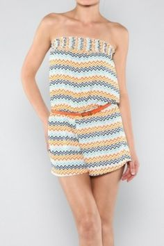 salediem.com has Missioni Print for less than Boutiques Shipping is always FREE, Colorful Missoni Romper