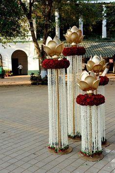 Side Decor for Wedding reception