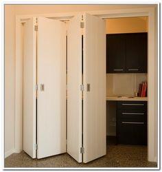 Mirror Bifold Doors masonite saddlebrook smooth 1-panel plank hollow-core primed