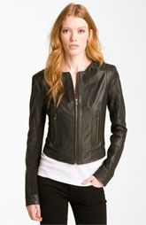 My thing for jackets was finally under control, til now!... Bod & Christensen Leather & Ponte Crop Jacket